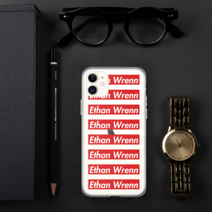 Ethan Wrenn Red Box-Logo iPhone Case
